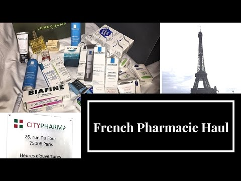 French Pharmacie Skincare Haul from CityPharma How to shop tax free