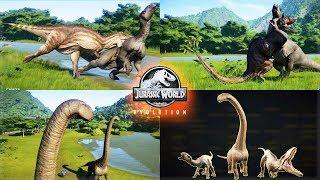3 NEW CRETACEOUS DINOS!!! CARCHARODONTOSAURUS, DREADNOUGHTUS, IGUANODON! Jurassic World Evolution