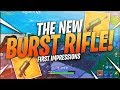 TSM Myth - LETS CHECK OUT THE NEW BURST RIFLE!!! (Fortnite BR Full Match)