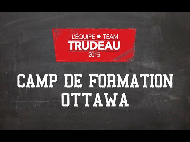 Camp de Formation Équipe Trudeau - Décembre 2014