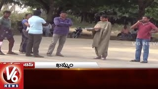 Excise CI Attacks On Women | Adilabad Bandh | Street Dogs Attack | State Roundup