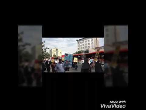 Qotsday parade in Tehran,Iran