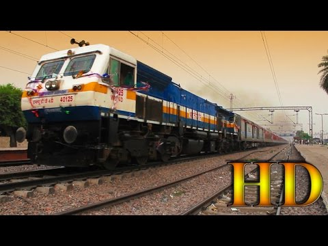 IRFCA - First Run Of The Most Awaited Train 22461 New Delhi...