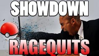 Pokemon Showdown RAGEQUITS - 5 Salty Pokemon Showdown Battles