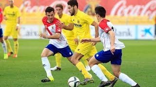 Resumen Villarreal B 2-0 l'Hospitalet