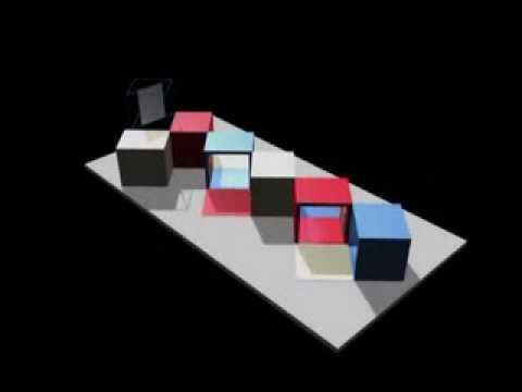 Architettura degli interni cubi youtube for Interni architettura