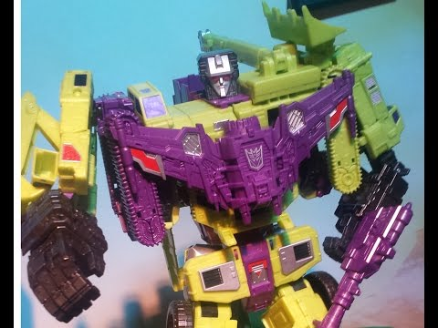 Devastator Toy Hasbro talks new Transformers: Combination Wars