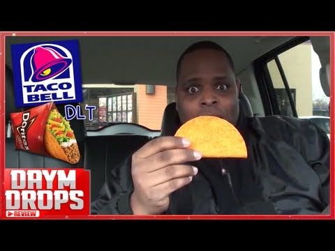 Taco Bell's NEW Dorito Locos Taco Review