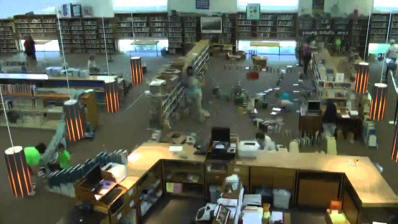 Time Lapse Stoughton Library