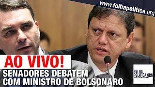 AO VIVO: SENADORES DEBATEM COM MINISTRO DE BOLSONARO - TARCÍSIO GOMES DE FREITAS