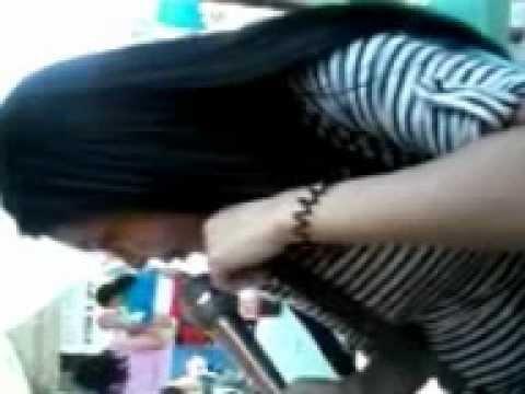 Sandra Dabu Scandal At Sta. Mesa, Manila Part 1 video