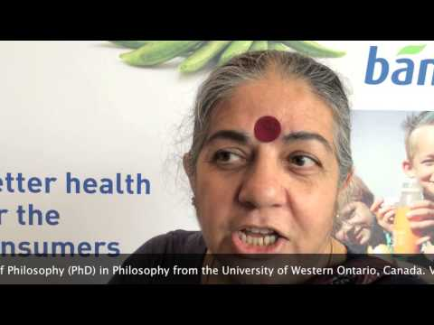 Food for thought - Vandana Shiva