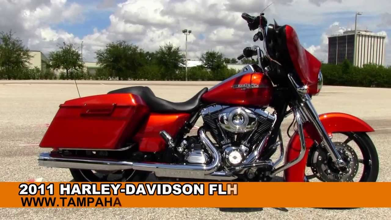 2013 Harley Davidson Street Glide >> Used 2011 Harley Davidson FLHX Street Glide for Sale in Georgia USA - YouTube