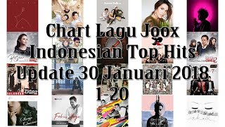 Chart Lagu Joox Indonesian Top Hits Update 30 Januari 2018 1-20