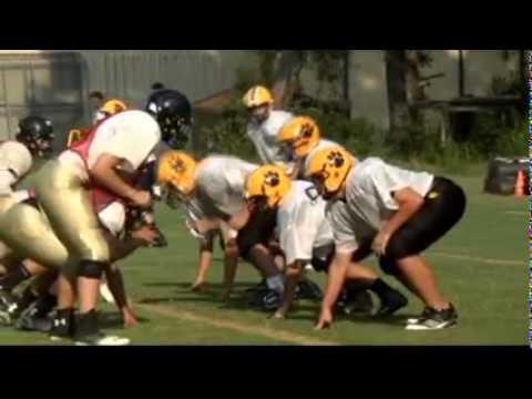 Crisp Academy Wildcats football team is young - 08/07/2014