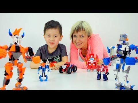 ТРАНСФОРМЕРЫ - Игры для мальчиков. Автоботы против Дисептиконов: Битва трансформеров