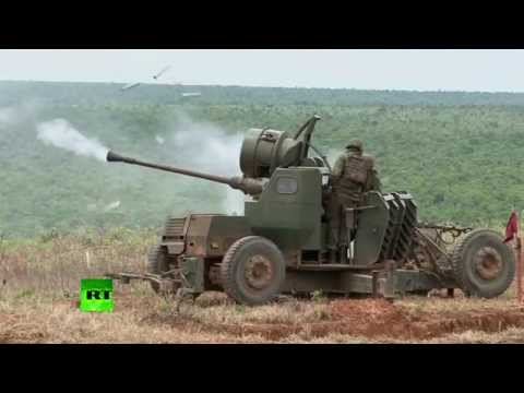 War Games: Missiles launched during military drills in Brazil