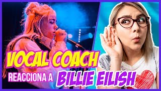 BILLIE EILISH ¿Voz Única o NO?  | VOCAL COACH REACCIONA | Gret Rocha