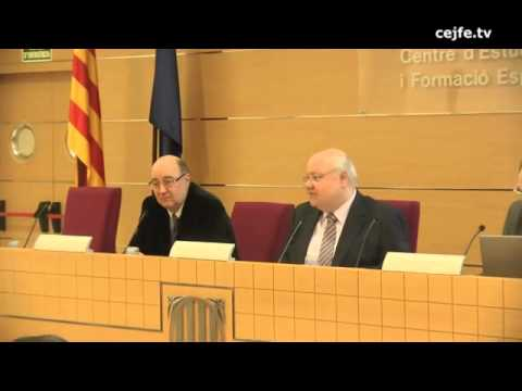 Presentació de la I Jornada de Qualitat de l'Atenció Ciutadana. Enric Colet