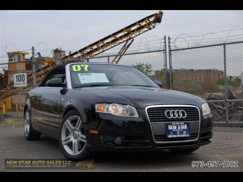 2007 Audi A4 2 0t Cabriolet Youtube