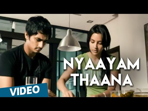 Nyaayam thaana Official Video Song | 180 | Siddharth | Priya Anand
