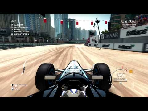 GRID AUTOSPORT. formula B. Dubai. Gameplay PC. Let's Play español