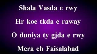 MERA FAISALABAD-DA DESI THUG Feat ZAMMU RAPPER Punjabi Rap 2014