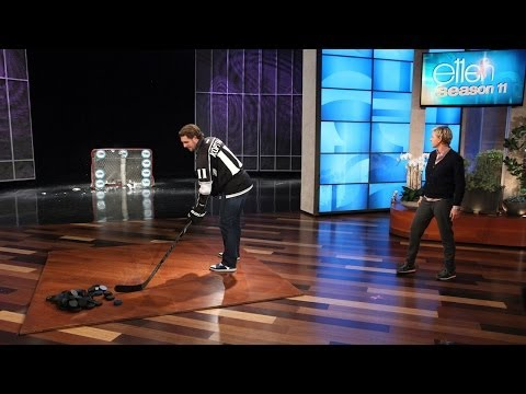 Anze Kopitar Shoots for Breast Cancer Research