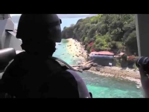 Vigilancia aérea de las playas Nayaritas