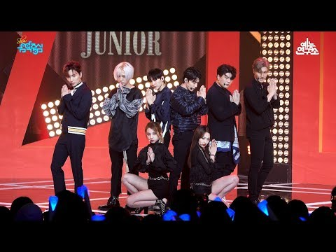 [예능연구소 직캠] 슈퍼주니어 Lo Siento (Feat. KARD) @쇼!음악중심_20180414 Lo Siento SUPER JUNIOR in 4K