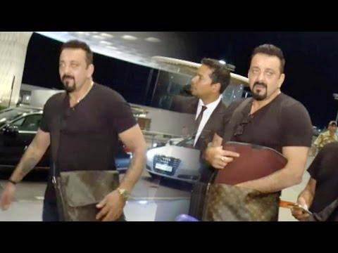 Sanjay Dutt Arrives In Style At Airport As He Leaves For IIFA 2016