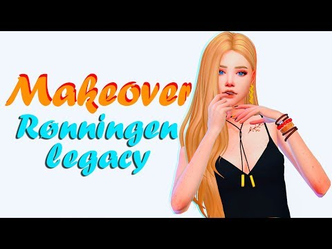 Sims 4 | Makeover + подкаст | Династия Рённинген