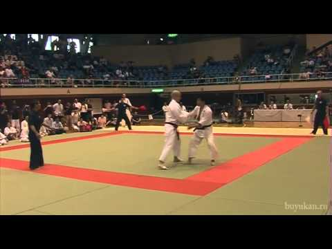 Men's Teams, final at 10th Aikido Tournament, Kawasaki 2013. Image 1