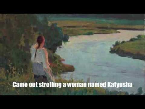 Katyusha Катюша English Subtitles Russian Folk Song Translation Lyrics Music