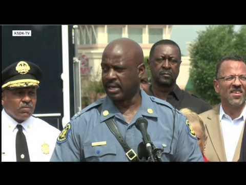 Mo. state and Ferguson police discuss release of surveillance video