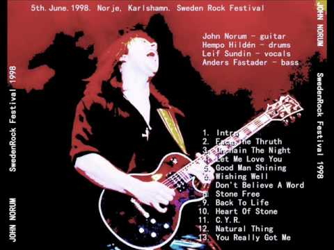 John Norum - Let Me Love You ( Live at Sweden Rock Festival 1998)