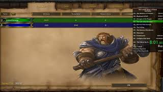 Warcraft 3: Reign of Chaos full game speedrun in 4:22:51 (4:17:55 IGT)