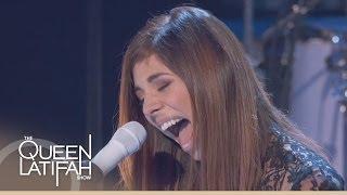 Christina Perri Performs 'Human' on The Queen Latifah Show