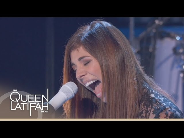 Christina Perri Performs 'Human' on The Queen Latifah Show