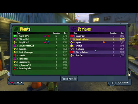 Plants vs. Zombies: Garden Warfare - Gameplay Walkthrough Part 236 - Team Vanquish Anguish! (PC)