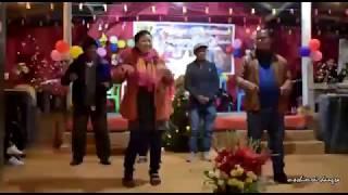 Funny dance Sir, Angshim & his wife Madam Kaini in Mashoukhu Christmas 2018