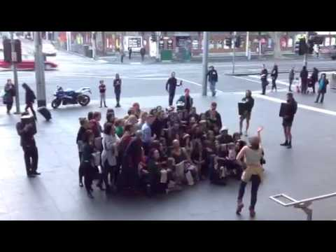 Kinfolk Flashmob