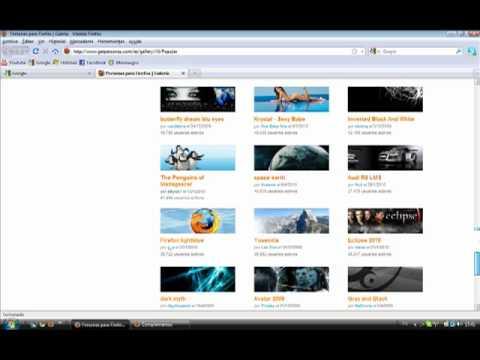 Firefox - 03 Instalar temas y cambiar el aspecto gráfico