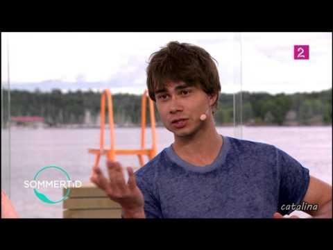 Alexander Rybak - Interview in Sommertid (01 07 2014)