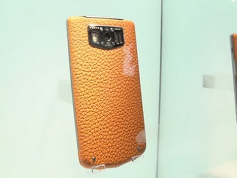 The Vertu Constellation: a $6,300 Android phone
