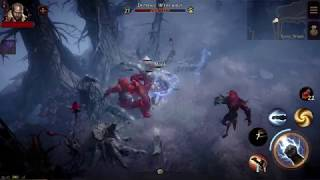 Diablo Immortal Class Gameplay and Abilities.