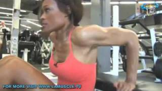 Work-Out With Fitness Godess Alicia Marie- Bikini Basics!  Part 2