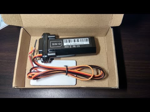 Unboxing The Best  Mini Vehicle GSM GPRS GPS Tracker For Car Motorcycle