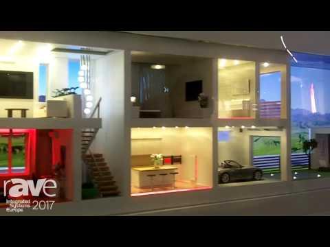 ISE 2017: Larintech Demos DE-MG.A Main Gateway for Smart Home Unit