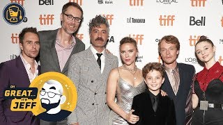 What Red Carpet Reporting is Really Like | JOJO RABBIT at TIFF 2019